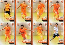 2015/16 FFA & A-League 16-Card Team Set Brisbane Roar