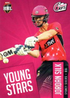 2015/16 CA & BBL Cricket Young Stars # YS-11 Jordan Silk Sixers