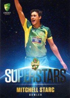 2015/16 CA & BBL Cricket Superstars # SS-0 Mitchell Starc Australian ODI