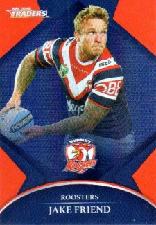 2016 NRL Traders Parallel #P135 Jake Friend Roosters