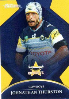 2016 NRL Traders Parallel #P90 Johnathan Thurston Cowboys