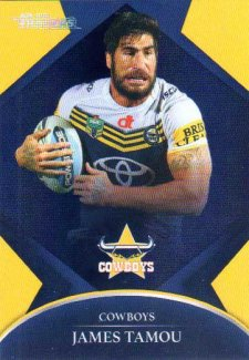 2016 NRL Traders Parallel #P88 James Tamou Cowboys