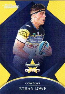 2016 NRL Traders Parallel #P85 Ethan Lowe Cowboys