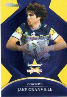 2016 NRL Traders Parallel #P83 Jake Granville Cowboys