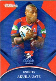 2016 NRL Traders Parallel #P80 Akuila Uate Knights