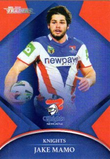 2016 NRL Traders Parallel #P73 Jake Mamo Knights