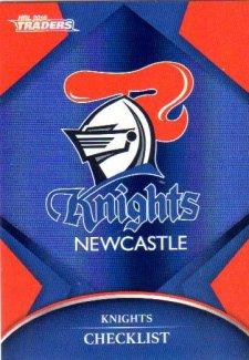 2016 NRL Traders Parallel #P71 Knights Logo
