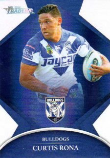 2016 NRL Traders Parallel #P29 Curtis Rona Bulldogs