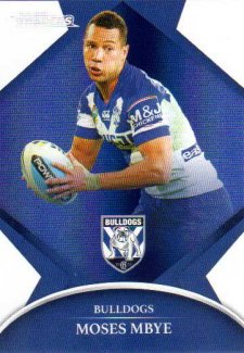 2016 NRL Traders Parallel #P26 Moses Mbye Bulldogs