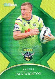 2016 NRL Traders Parallel #P19 Jack Wighton Raiders