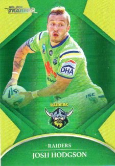2016 NRL Traders Parallel #P15 Josh Hodgson Raiders