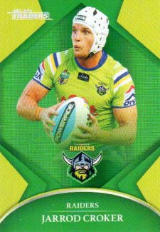 2016 NRL Traders Parallel #P13 Jarrod Croker Raiders
