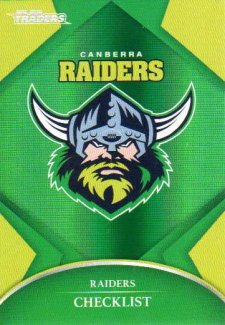 2016 NRL Traders Parallel #P11 Raiders Logo
