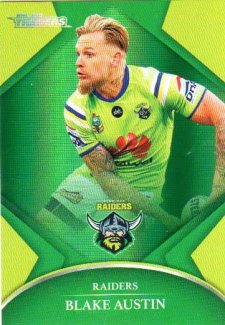 2016 NRL Traders Parallel #P12 Blake Austin Raiders