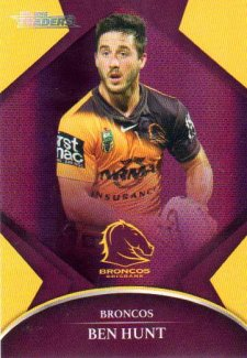 2016 NRL Traders Parallel #P5 Ben Hunt Broncos