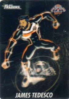 2016 NRL Traders Album Version Cyber Heroes #ACH18 James Tedesco Tigers