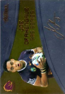 2016 NRL Traders SAS Gold #SASG17 Joe Ofahengaue Broncos