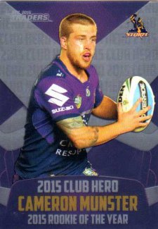 2016 NRL Traders Club Hero #CH14 Cameron Munster Storm
