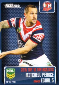 2016 NRL Traders Pieces of the Puzzle #PP87 Mitchell Pearce Roosters