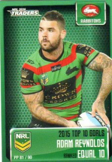 2016 NRL Traders Pieces of the Puzzle #PP81 Adam Reynolds Rabbitohs