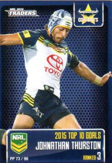 2016 NRL Traders Pieces of the Puzzle #PP73 Johnathan Thurston Cowboys