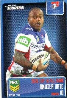2016 NRL Traders Pieces of the Puzzle #PP54 Akuila Uate Knights