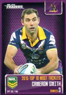 2016 NRL Traders Pieces of the Puzzle #PP20 Cameron Smith Storm