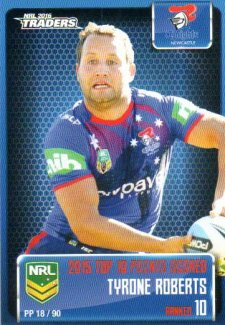 2016 NRL Traders Pieces of the Puzzle #PP18 Tyrone Roberts Knights