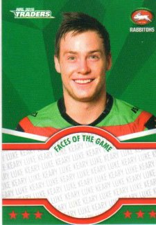 2016 NRL Traders Faces of the Game #FOTG35 Luke Keary Rabbitohs