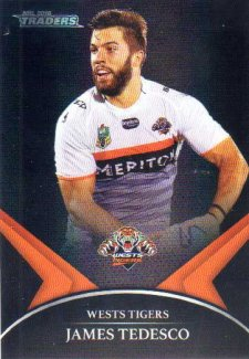 2016 NRL Traders Black Special Parallel #PS79 James Tedesco Tigers