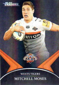 2016 NRL Traders Black Special Parallel #PS78 Mitchell Moses Tigers