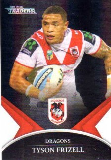 2016 NRL Traders Black Special Parallel #PS63 Tyson Frizell Dragons