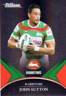 2016 NRL Traders Black Special Parallel #PS60 John Sutton Rabbitohs
