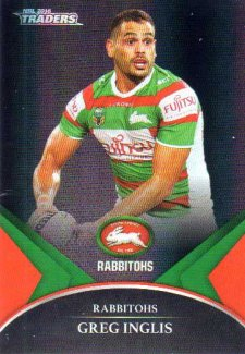 2016 NRL Traders Black Special Parallel #PS58 Greg Inglis Rabbitohs