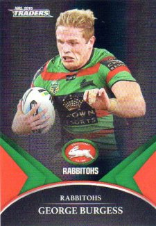2016 NRL Traders Black Special Parallel #PS56 George Burgess Rabbitohs