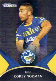 2016 NRL Traders Black Special Parallel #PS47 Corey Norman Eels