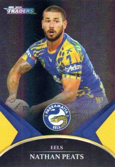 2016 NRL Traders Black Special Parallel #PS48 Nathan Peats Eels
