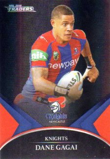 2016 NRL Traders Black Special Parallel #PS36 Dane Gagai Knights