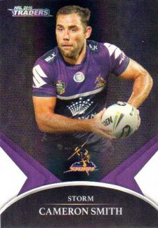 2016 NRL Traders Black Special Parallel #PS35 Cameron Smith Storm