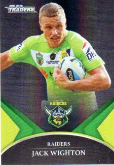 2016 NRL Traders Black Special Parallel #PS9 Jack Wighton Raiders