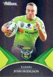 2016 NRL Traders Black Special Parallel #PS7 Josh Hodgson Raiders