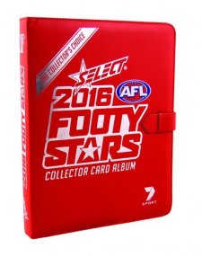 2016 AFL Footy Stars Album / Folder