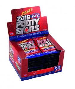 2016 AFL Footy Stars Box