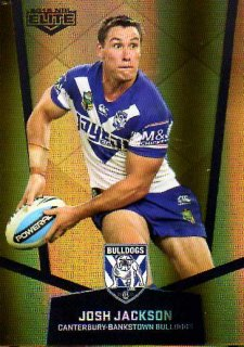 2015 NRL Elite Gold Parallel #PS20 Josh Jackson Bulldogs