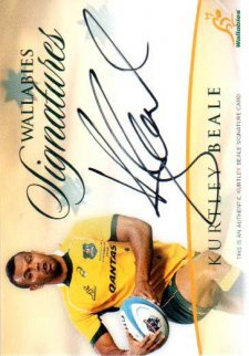 Wallabies Signature Cards