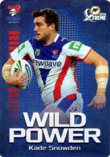 2016 NRL Xtreme Powerplay Wild Power #WP8 Kade Snowden Knights