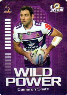 2016 NRL Xtreme Powerplay Wild Power #WP7 Cameron Smith Storm