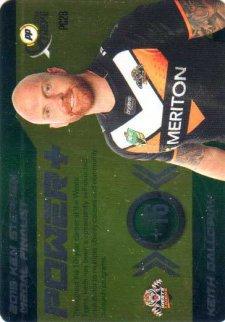2016 NRL Xtreme Powerplay Power Card #PC28 Keith Galloway Tigers