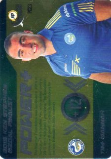 2016 NRL Xtreme Powerplay Power Card #PC23 Tim Mannah Eels