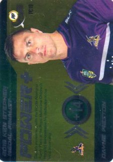 2016 NRL Xtreme Powerplay Power Card #PC19 Dayne Weston Storm